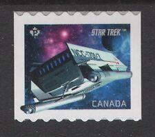 Canada 2017 Star Trek Coil Single NCC-1701-D Shuttle, MNH VF