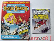 MARTIN MYSTERE SPECIALE N 13 con albetto Bonelli IL DIZIONARIO DEI MISTERI 1996