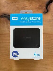 Western Digital EasyStore WDBAJP0040BBK-WESN 4 TB,External,2.5 inch Hard Drive