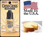 Criss Cross Vape Vapor USA 10ML Cheesecake 0 mg No Nicotine - $4.99