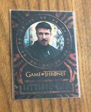 2017 HBO Game of Thrones Valyrian Steel~PETYR LITTLEFINGER BAELISH~Laser Cut #9