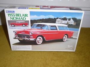 Gunze-Sangyo 1955 Chevy Nomad 1/32 Model Kit - Rare sealed In Box, Tri Chevy