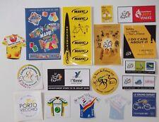 CYCLISME 17 Stickers Cycliste  TOUR DE FRANCE