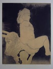 Jorge Castillo Original Etching S/N