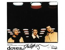 The Doves Signed 10X8 Autograph Photo - Band