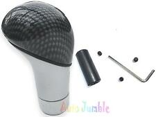 MITSUBISHI LANCER gear knob CARBON & CHROME shifter shift stick racing universal