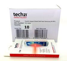 Lot of 10 Tech21 Impact Shield Self Healing Screen Protector Samsung Galaxy S4