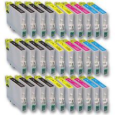 30x Tinte Patrone für EPSON Stylus SX200 SX205 SX210 SX215 SX218 SX400 SX405