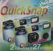 Appareil jetable Lot Flash 2 pellicules photo lomo graphie film Fuji 400 périmé