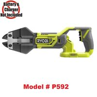 Ryobi P592 18V 18-Volt ONE+ Bolt Cutters,Up to 3/8 in. cut, No Battery & Charger