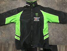 Monster Energy Team Kawasaki Amsoil Team Babbitts Racing Pit Jacket Size S