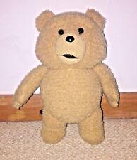 "Official TED 12"" Movie plush bear. Talking Bear"