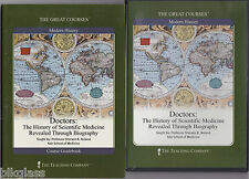Great Courses DVD n Book Doctors The History Of Scientific Medicine Thru Bio