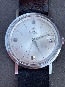 Vintage Cyma Navystar Cymaflex Gents Watch