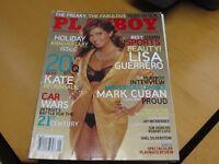 Playboy Magazine January 2006 ~ Sports Reporter Lisa Guerrero + Athena Lundberg