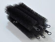 "12 x Black Knight Pond Filter Brushes 4"" x 20"" Long"