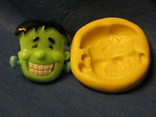 Frankenstein Halloween Silicone Mold Flexible Clay Candy Fondat Chocolate 217