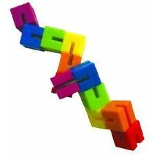 Flexi Puzzle, includes storage bag, 80+ challenge book 12 cube puzzle Ages 8+