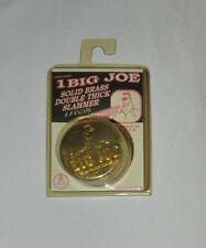Big Joe Solid Brass Double Thick Slammer w/ 8 K Caps for POG NIP Made in USA P