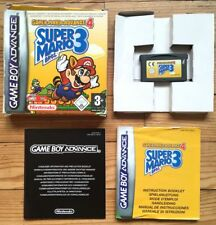 SUPER MARIO ADVANCE 4 COMPLET BOÎTE NOTICE GAMEBOY BROS 3 PAL EURO GBA CIB OVP