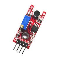 4PIN High Sensitivity Sound Microphone Sensor Detection Module for Arduino