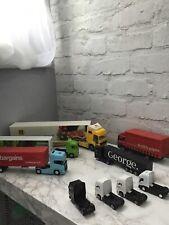 Kids Toy Lorries- Push A Long Trucks- 9 Toy Truck Bundle
