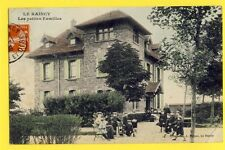 cpa Ecrite en 1909 FRANCE LE RAINCY Seine Saint Denis VILLA Les Petites Familles