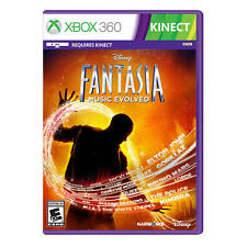 Disney Fantasia Music Evolved Microsoft Xbox 360 Video Game NIB Harmonix Kinect