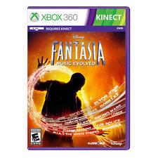 Disney Fantasia Music Evolved Microsoft Xbox 360 Video Game NIB Harmonix Kinect