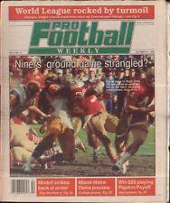 Pro Football Weekly October 21, 1990 Roger Craig San Francisco 49ers Vol 5 No 11
