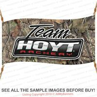 HOYT Archery Bow Shop Bow Hunting Cabin Camp Vinyl Banner Wall Sign Camo bnd2