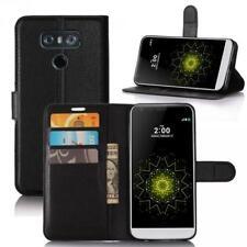 LG G6 Phone Case Cover Wallet Flip Magnet Bag Bumper Sleeve Protect Black