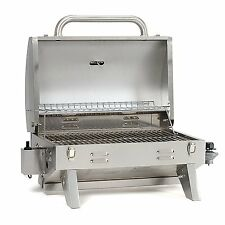 Smoke Hollow Aussie 205 Stainless Steel Tabletop Grill Outdoor Cooking Portable