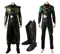 Thor The Avengers Ragnarok Loki Cosplay Costume Halloween Outfit Custom Made