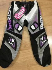NEW!! MSR MX Starlet Motorcycle Pants Youth 20 Purple White And Black