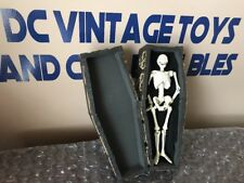 Custom Made Metal Skeleton And Wooden Coffin One of One Halloween Horror Voodoo