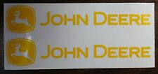 """DECAL SET for Late John Deere Pedal Tractor Wagon, Adhesive Backed, 8""""  JP123"""