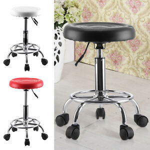 Salon Stool Rotating Hairdressing Beauty Chair Hydraulic Lifting Adjustable Seat