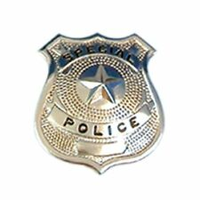 Silver Police Badge Police Badge for Fancy Dress party Hen Party