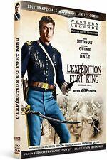 Blu Ray + DVD : L'expédition du Fort King - WESTERN - NEUF