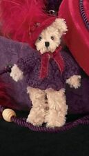 Lady Scarlet Red Hat Ornament~Bearington Collection~5'' Plush Bear~NWT~FREE Ship