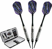 VIPER SILVER BOBCAT 20-0915-16 ADJUSTABLE SOFT TIP DART SET 16-18 G SHAFT FLIGHT