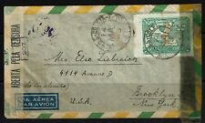 Brazil - 1943 Censored AIrmal Cover to USA - Lot 090417