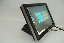 "Dell E157FPTe Touchscreen POS/Retail 15"" LCD Monitor VGA USB Audio Serial XM180"