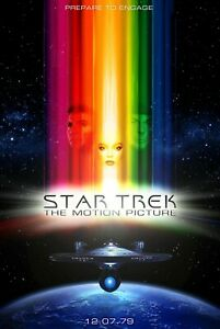 Star Trek_ The Motion - Poster (A0-A4) Film Movie Picture Art Wall Decor Actor