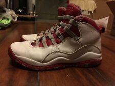 Nike Air Jordan Retro X 10 GS Size 5.5y 310806-161 Cherry Red Bred Chicago Bulls