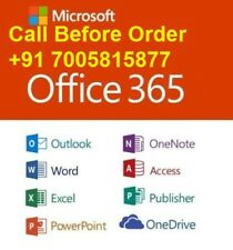 Microsoft Office 201365 LIFETIME Account for 5 PC - Mac, PC & Mobile Devices