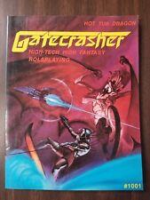 Gatecrasher High-Tech High Fantasy Roleplaying