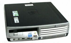 HP dc7600 DC7600U Intel Pentium 4 HT 3.2GHz, 80GB, 3GB RAM Ultra Slim Desktop