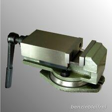 Maschinenschraubstock 80mm Schraubstock Parallelschraubstock drehbar 360°  NEU